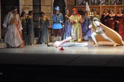 El lenguaje del ballet La bella durmiente